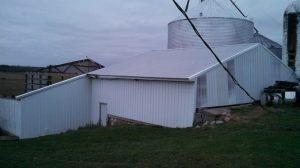 Storm damage in Michigan - Vander Werff Family Farm.