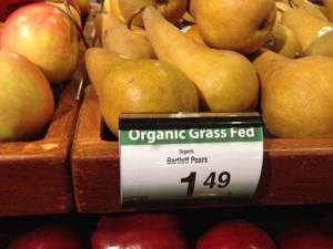 Pretty sure those aren't grass fed either.